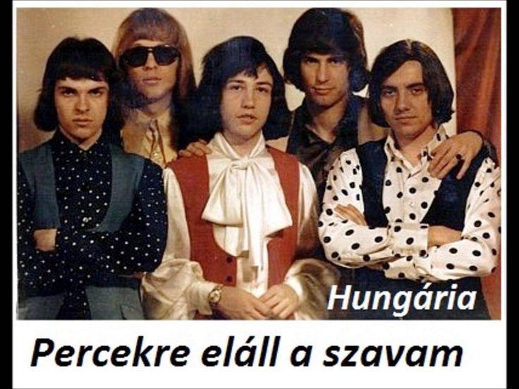 Hungária együttes -  Percekre eláll a szavam