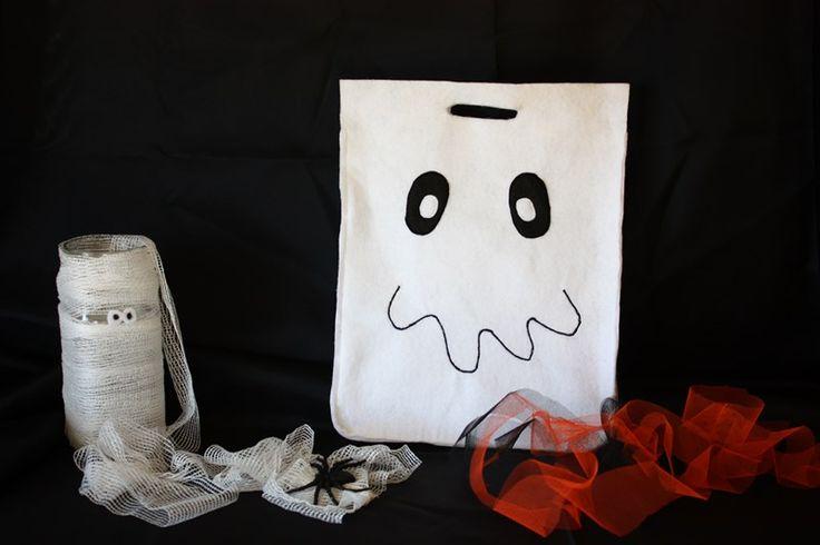Halloween Ghost Bag  ---  Bolsa Fantasma Halloween