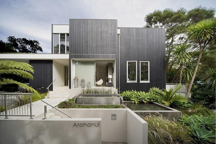 black painted shadowclad home