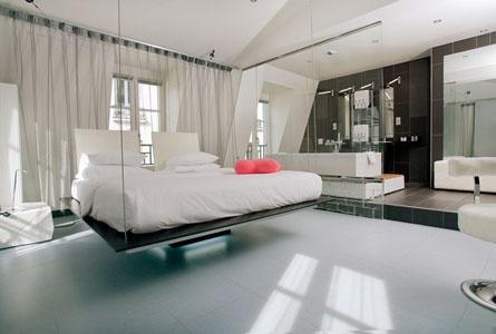 Check Kube Hôtel in Paris, France | Splendia - http://pinterest.com/splendia/