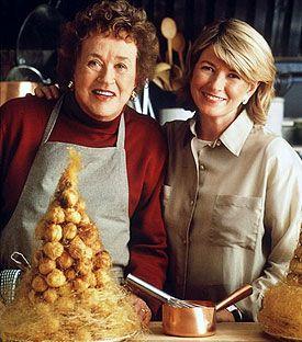 Julia and Martha Stewart