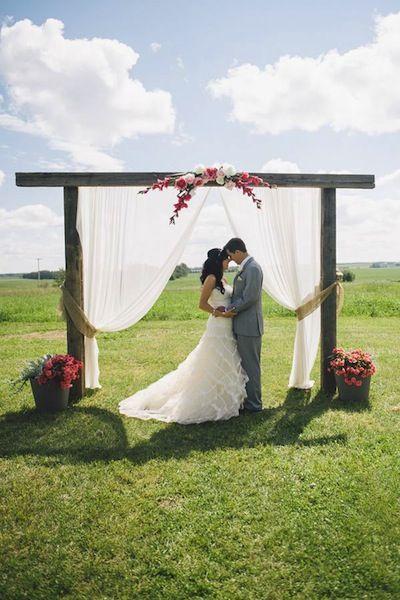 DIY Arches for Wedding