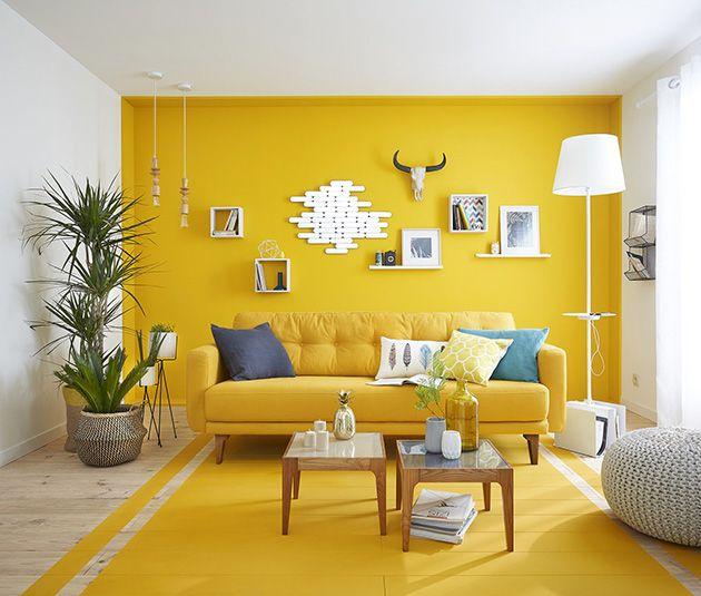 Cuartos Color Amarillo