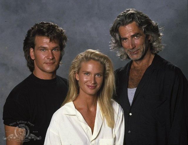 Sam Elliott, Patrick Swayze, Kelly Lynch. Roadhouse. 2 of my favorite guys!
