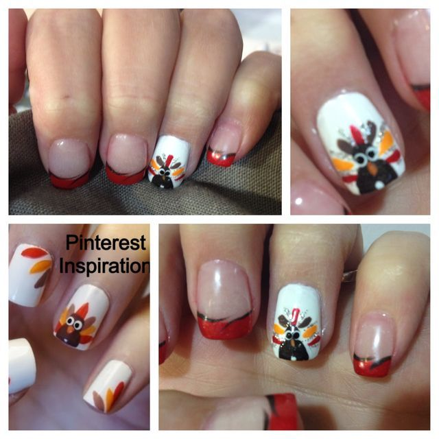 31 best thanksgiving nail ideas images on Pinterest ...