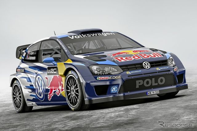 フォルクスワーゲン ポロR WRC の2015年型