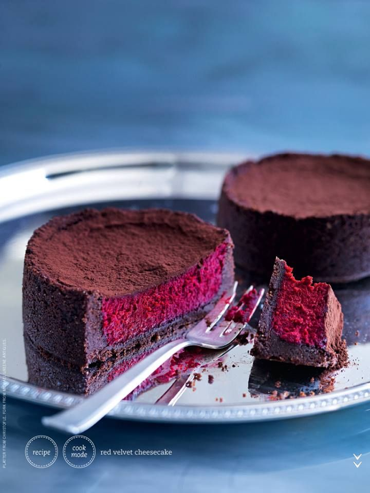 Donna Hay - Red Velvet Cheesecake This is divine!!!