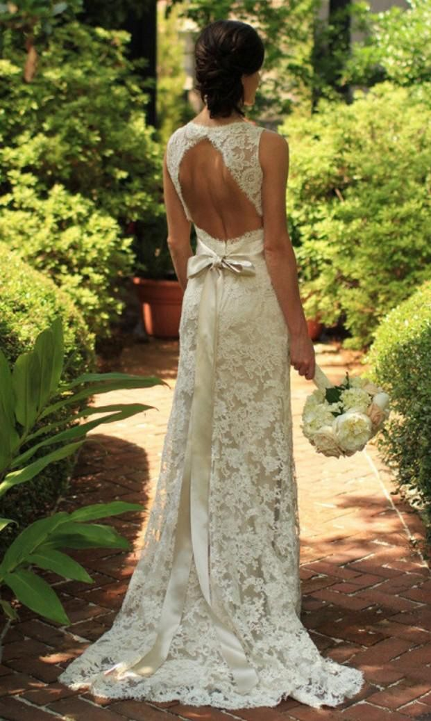 champagne wedding dresses, wedding dresses champagne , lace open back wedding dresses, new arrival bridal gowns