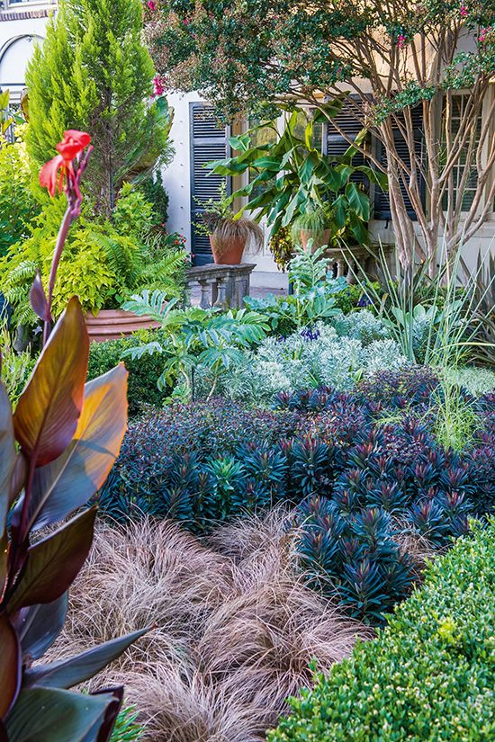 ... The Art Of Gardening. See More. Semi Hardy Perennials Favored For  Spring Are Skillfully Integrated In This Summer Bedding. Photo