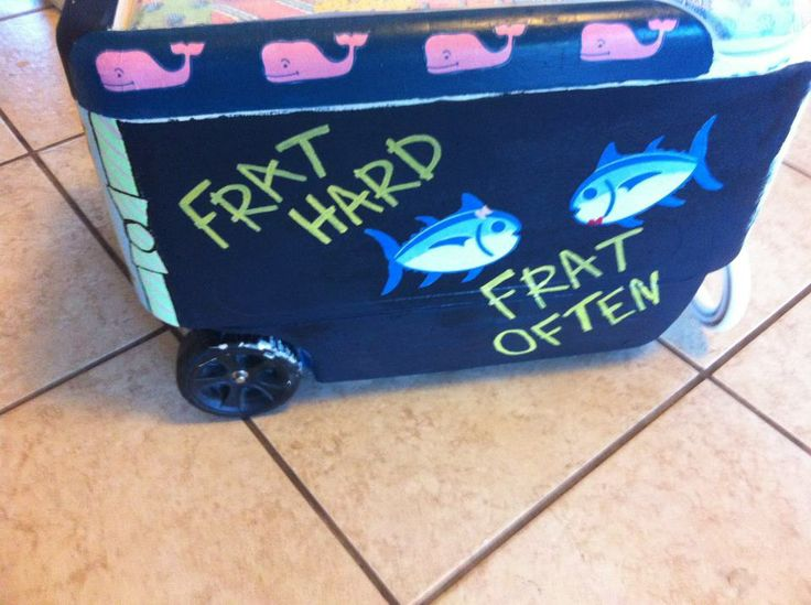 typical frat coolers - Google Search