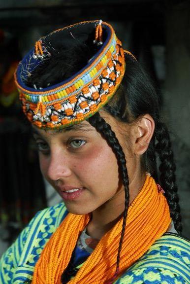 Hunza Menschen