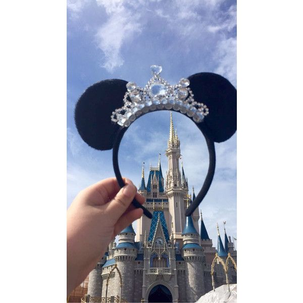 LIMITED Special Price Gorgeous Tiara Minnie Mouse ears Headband ($17) ❤ liked on Polyvore featuring accessories, hair accessories, headband hair accessories, tiara headband, head wrap headband, hair band headband and hair bands accessories