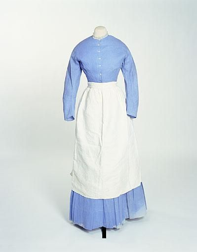 Servant's dress Acknowledgement: © Manchester City Galleries Created by: Created: 1865-1870