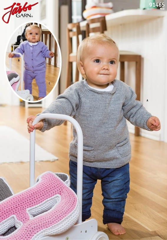 Picture of Stickmönster till tröja, kofta och leggings i Mio