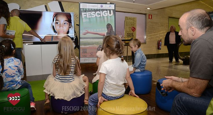 Taller de Cine Infantil. Foto: Gemma Mínguez/InnovArt.