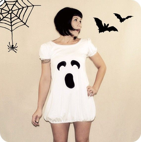 Ghost.Halloween Stuff, Halloween Costumes Ideas, Ghosts Costumes, Halloween Outfit, Costumes Halloween, Ghosts Town, Potential Halloween, Ghosts Dresses, Halloween Ideas