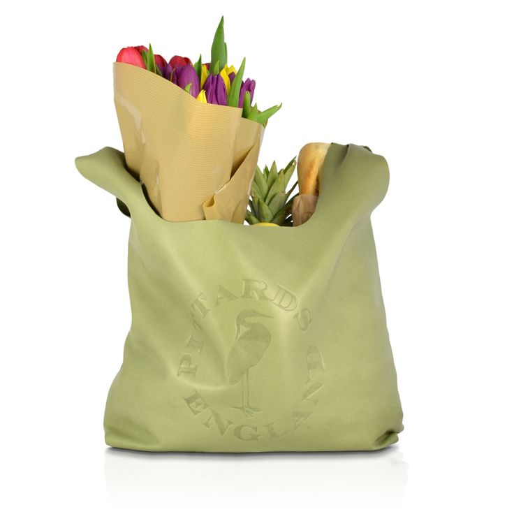 Shopper Bag in Fern|Leather Shopper Bag|Pittards