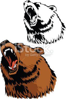 bearsRoaring Bear Clip Art