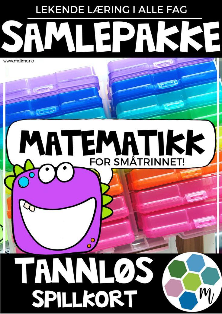 TANNLØS - samlepakke matematikk