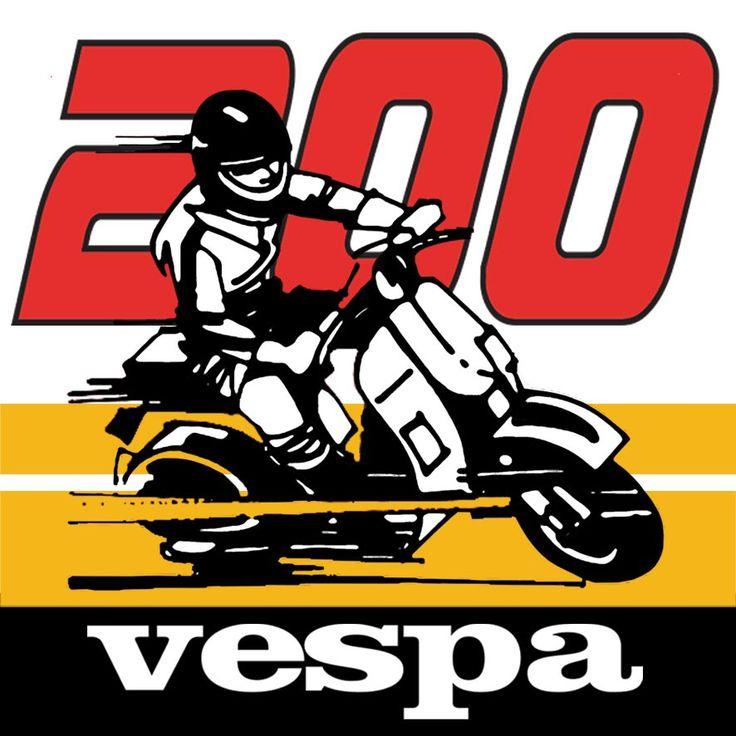 Vespa 200 Community 1st logo