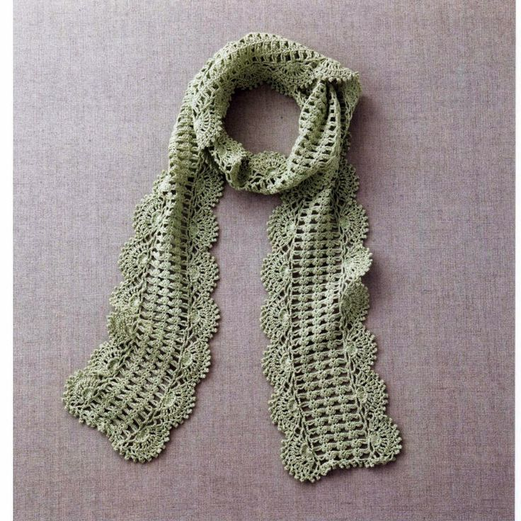 ... Crochet - Scarves on Pinterest Stitches, Spring scarves and Crochet