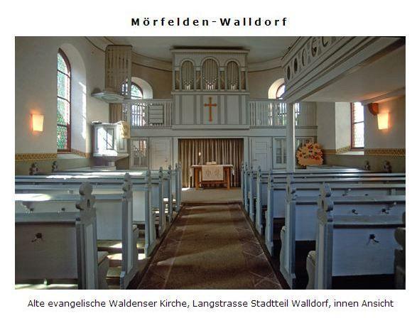 Waldenser Church on the inside