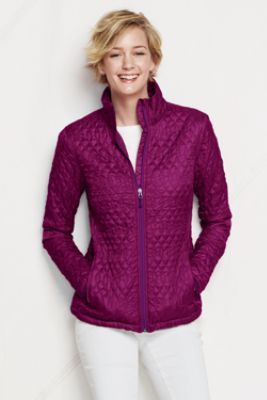 Noreen Carmody in a Women's Primaloft Packable Jacket from Lands' End