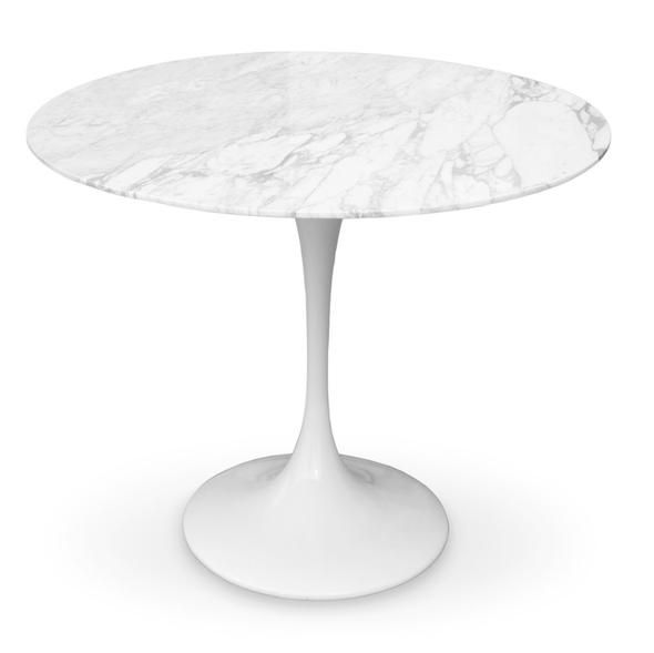 475 Eero Saarinen Tulip Table Marble Top 32 Modholic Com 30h