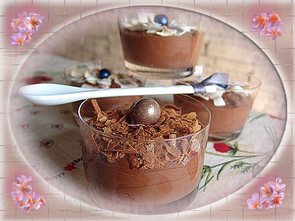 Mousse au chocolat à l'Amarula !