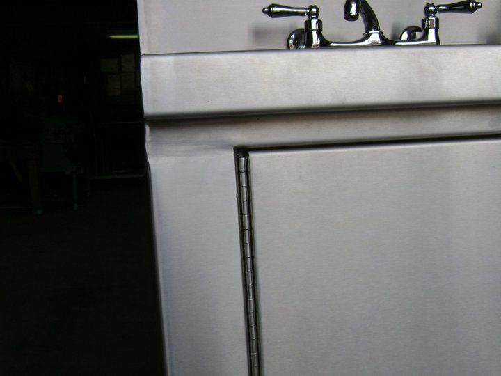 Stainless Steel Cabinet and doors