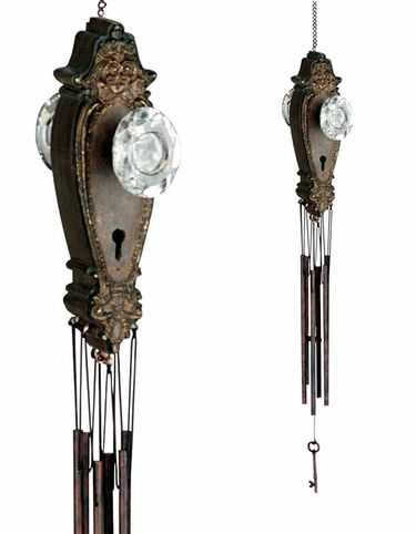 Victorian Door Knob Wind Chime only $19.99 at Garden Fun - What's New!