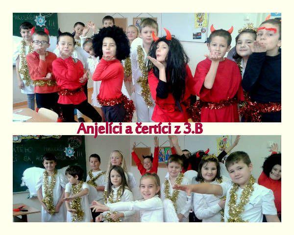 Anjeli a čerti Základná škola v Kriváni - Photos