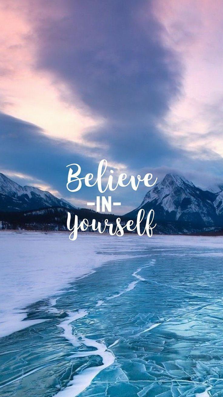 Acredite em si mesmo. ❤️ #love #wallpaper – #A…