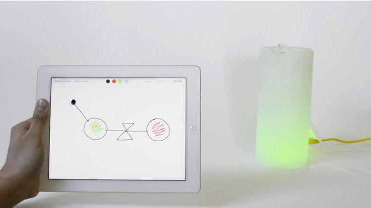 Drawit est une interface réalisée par Marc Exposito, designer interactif. Elle permet de contrôler les Internet of Things (IoT), qui représentent les... Plus de découvertes sur Le Blog Domotique.fr #domotique #smarthome #homeautomation
