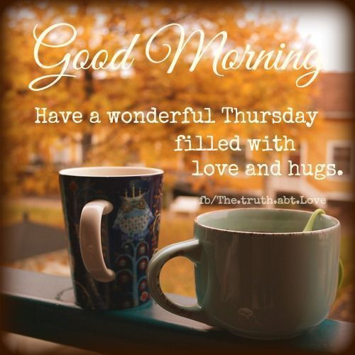 Good Morning, Have A Wonderful Thursday Pictures, Photos, and Images for Facebook, Tumblr, Pinterest, and Twitter