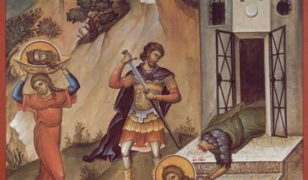 Taierea capului Sfantului Ioan Botezatorul este praznuita pe 29 august. Este ultima mare sarbatoare din anul bisericesc, pentru ca pe 1 septembrie incepe un nou an