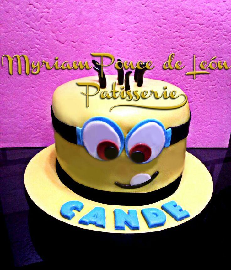 Cake miñon, realizada en fondand