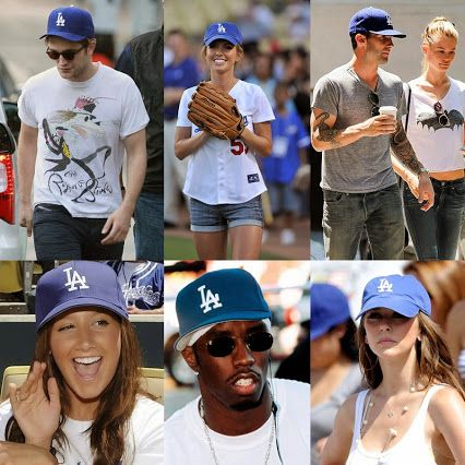Hollywood Celebrities and LA Dodger Hats! #hollywood # ...