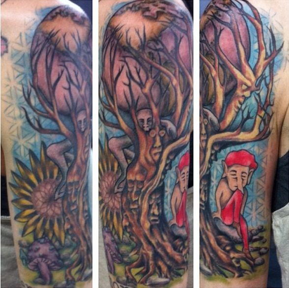 20 Color Sleeve Tattoos: 79 Best Images About Adrenaline Vancity Color Tattoos On