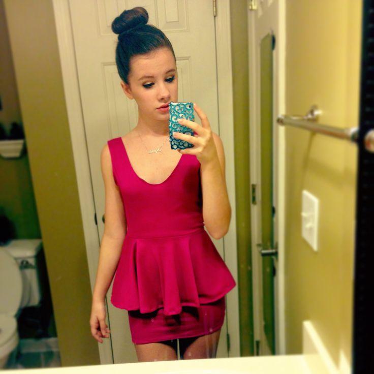 How To Make a Peplum Dress