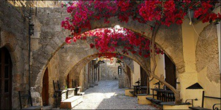 Rhodes Greece old town
