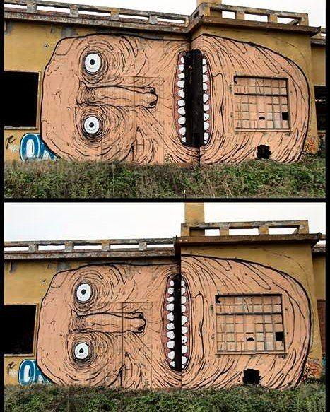 "tschelovek_graffiti: ""@whoisnemos нарисовал в Реджо-нель-Эмилия (Италия). @whoisnemos @nemos #igersitalia #igersitaly #streetartitaly #italystreetart #граффити_tschelovek #streetart #urbanart #graffiti #mural #стритарт #граффити #wallart #graffitiart #art #paint #painting #artederua #grafite #arteurbana #graffiticulture #graffitiwall #streetart_daily #streetarteverywhere"""