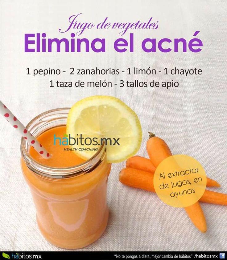 Elimina el acne
