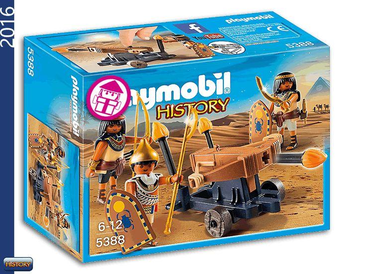 PLAYMOBIL 5388 Egyptian Fire Ballist