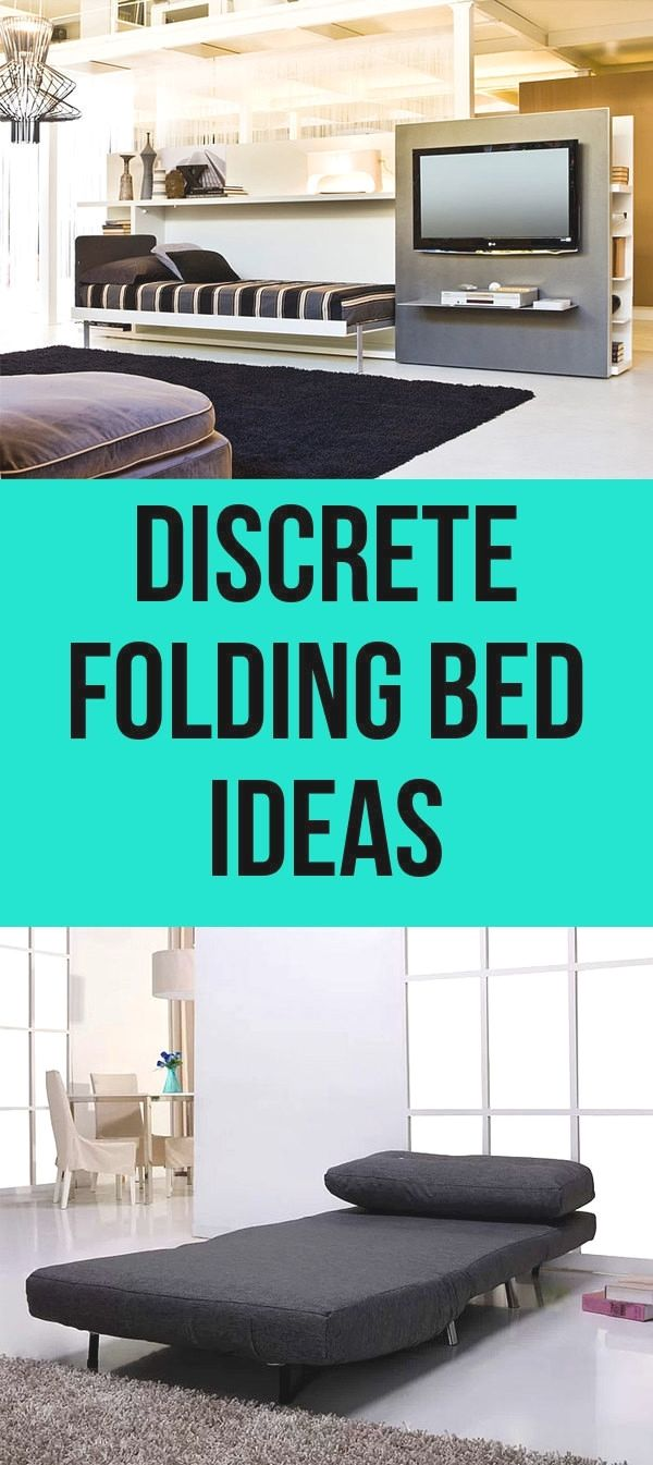 - Efficient And Small Folding Bed Designs For Your House . Folding