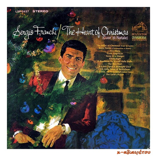 Sergio Franchi-The Heart of Christmas (Cuor' di Natale) ~ x-αδιαιρετου