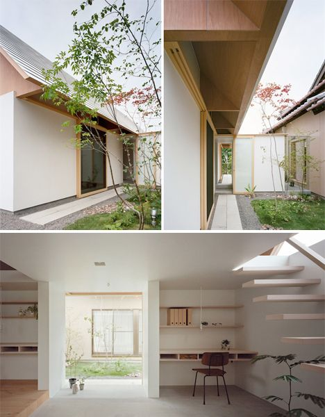 modern plywood expansion to traditional japanese home designs - Modern Japan House