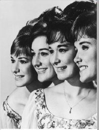 The Lennon Sisters~ used to watch them on the Andy Williams Show  with my parents when I was a kid