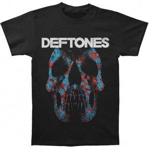 Deftones Minerva Rose Skull T-shirt