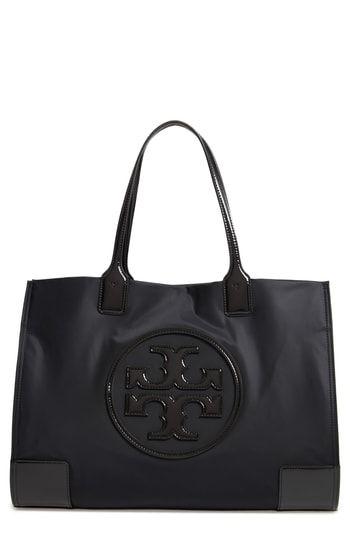 d2e8263da2 Tory Burch Ella Patent Nylon Tote in 2019 | On-Trend Shoulder Bags ...